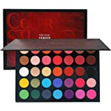 Beauty Glazed Sweatproof Matte and Shimmer Eyeshadow Make up Palettes Highly Pigmented 35 Colors Professional and Home…