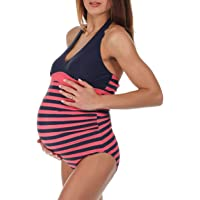 139f19396e8 Amazon Best Sellers  Best Maternity One-Piece Swimsuits