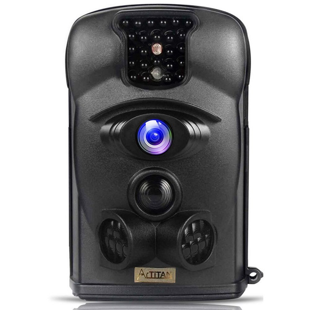 ARTITAN トレイルカメラ 120°検知範囲 防犯カメラ 1200万画素 狩猟モニターカメラ 動き検知 人感センサー 赤外線LEDライト搭載 IP65防水 暗視カメラ 家庭 屋外 動物撮影 野外玄関監視 駐車場用 B078J3921C