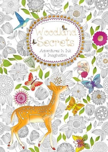 Woodland Secrets Adventures Imagination Colouring product image