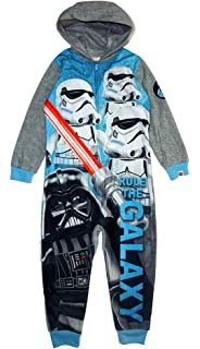 STAR WARS KYLO REN Boys Fleece Blanket Pajama Sleeper
