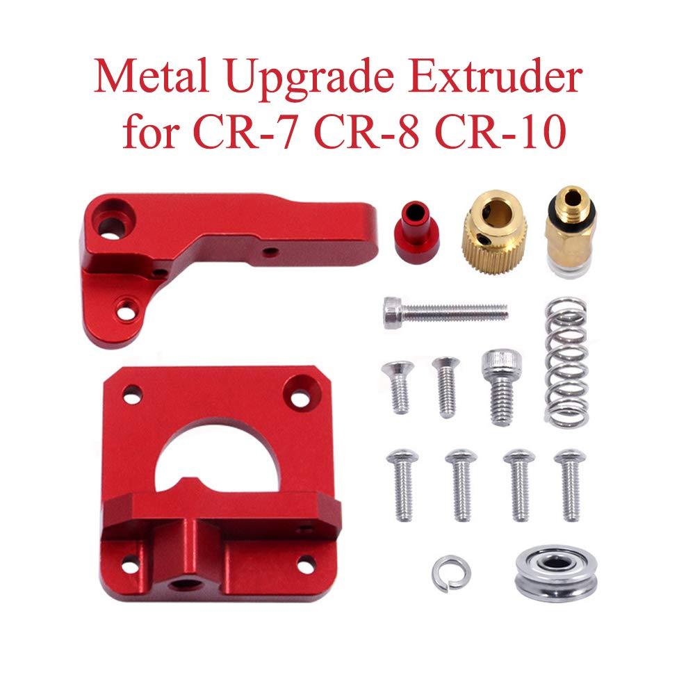 3D Printer Parts Upgrade MK8 CR10 Extruder Aluminum Alloy Block Extruder 1.75MM