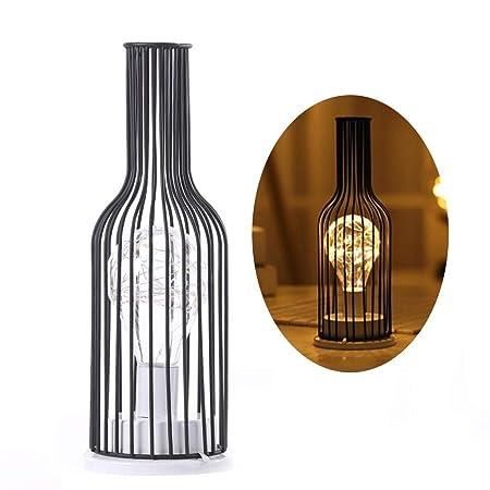 LIGUOPIN Pantalla de lámpara de Mesa Vintage, Protector de ...