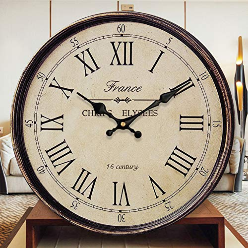 SILUQ Retro Digital Wall Clock, Vintage Fashion Roman for sale  Delivered anywhere in USA