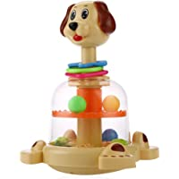 Akrobo Dog Push and Spin Popper for Toddlers and Kids