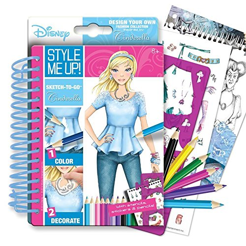 Style Me Up! Sketch-to-Go Cinderella English ()