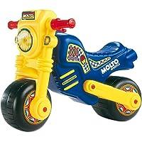 Moltó Cross Motocicleta sin Pedales para Niños, Multicolor