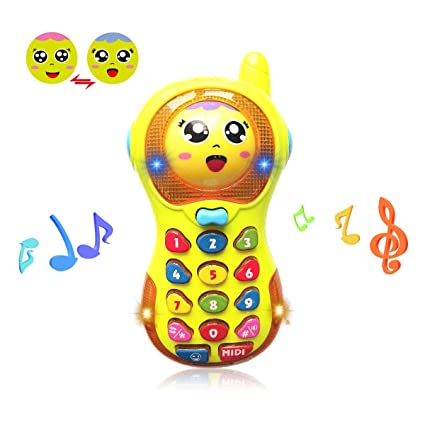 Amazoncom 3 12 Months Baby Toy Baby Phone Toy 6 9 Month Old Toys - 9-month-old-baby-toys