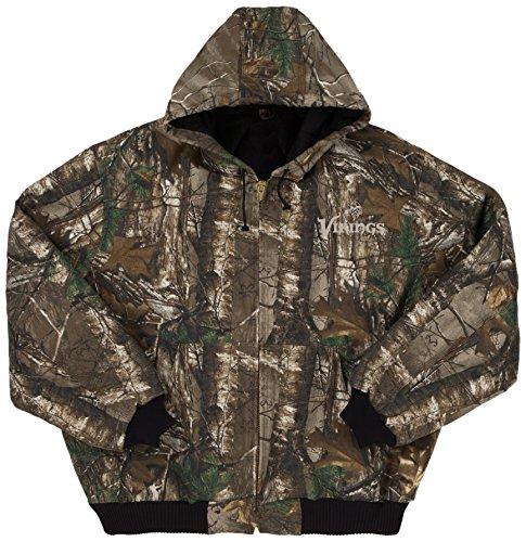Amazon.com   Dunbrooke Apparel NFL Camo Cotton Canvas Quilt Lined Hooded  Camoflauge Jacket   Sports   Outdoors de6b9e909