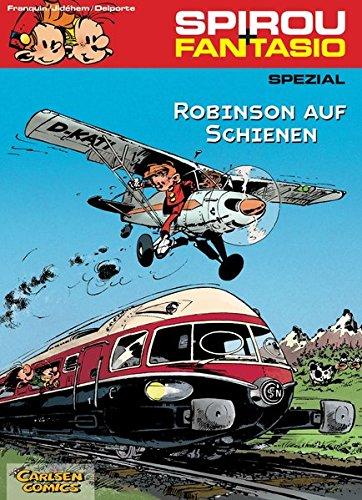 Spirou & Fantasio Spezial 12: Robinson auf Schienen