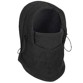 Máscara de Esquí para Hombre, Fansport Máscara de Pasamontañas de Esquí Invierno Cubierta de la