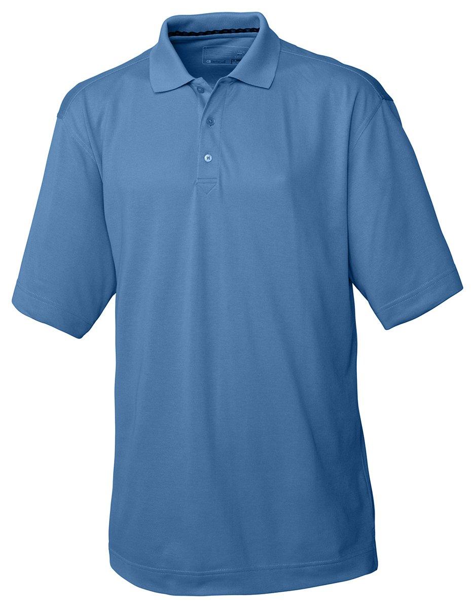 Cutter & Buck Men's CB Drytec Championship Polo Shirt, Sea Blue, Medium