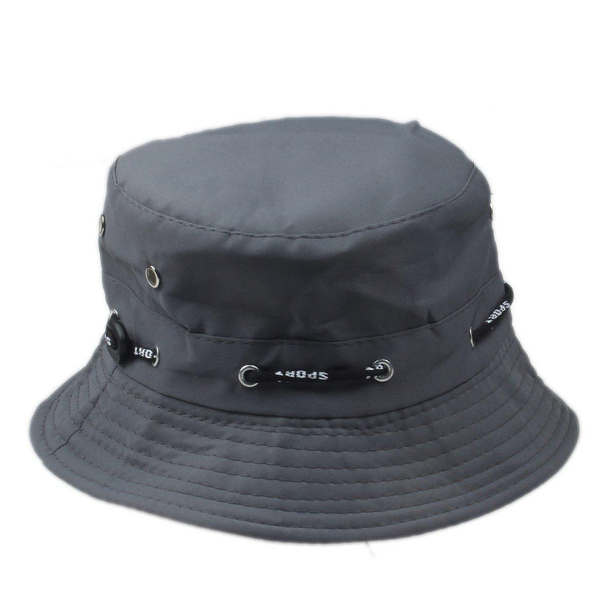 4c92aafd02c Bucket Hat for Men Panama Women Fishing Sun Hat Anti-UV Sun Block Visor at  Amazon Women s Clothing store