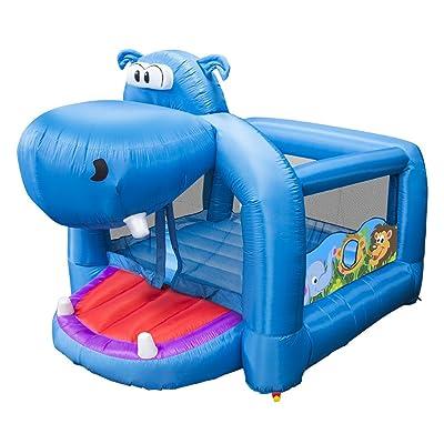 Banzai Happy Hippo Inflatable Bouncer: Toys & Games