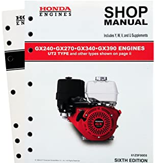 Amazon honda gx240 gx270 gx340 gx390 engine service repair honda gx240 gx270 gx340 gx390 ut2 engine service repair shop manual sciox Gallery