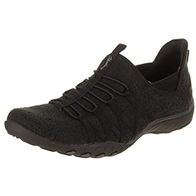 Skechers Relaxed Fit Breathe Easy Harmonia Womens Slip On Bungee Sneakers | Walking