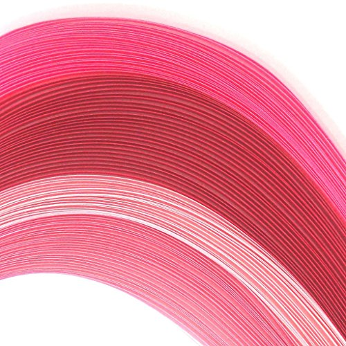 Tones of Pink - 5 mm - 100 Quilling Strips by Quill On (Image #1)