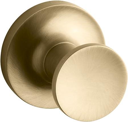 Kohler K-14443-BGD Purist Robe Hook Brushed Gold