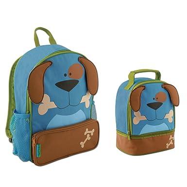 Amazon.com | Stephen Joseph Sidekick Puppy Dog Backpack and Lunch ...