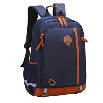 80ba288600 Primary School Bag Backpack for Boys Girls 5-12 Years Old