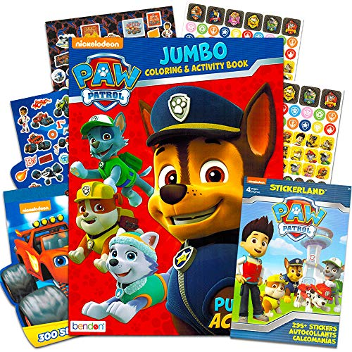 PAW Patrol Coloring Book and Stickers - 295