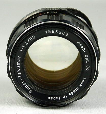 e37505d4e Amazon.com : Pentax 50mm f/1.4 Super-Takumar Screw Mount Lens for Pentax  Spotmatic Camera : Camera & Photo