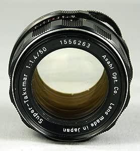 Pentax 50mm f/1.4 Super-Takumar Screw Mount Lens for Pentax Spotmatic Camera
