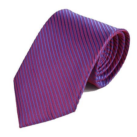 Y-WEIFENG Corbata de los Hombres Traje Fino Corbata de Negocios ...