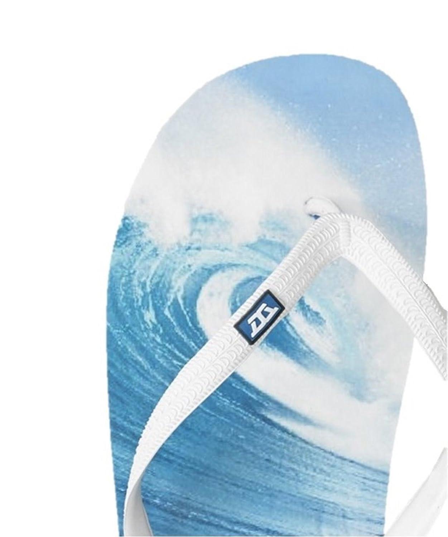 BIG Infradito Da Uomo 12 13 14 15 Thongs Beach Shoe Blu Navy