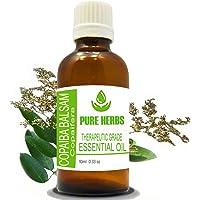 Pure Herb Copaiba Balsam (Copaifera) czysty i naturalny olejek eteryczny klasy terapeutycznej 10 ml