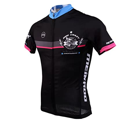 Segolike Men s Short Sleeve Cycling Jersey Jacket Cycling Shirt Quick Dry  Breathable Mountain Bike Clothing Top af8a06326