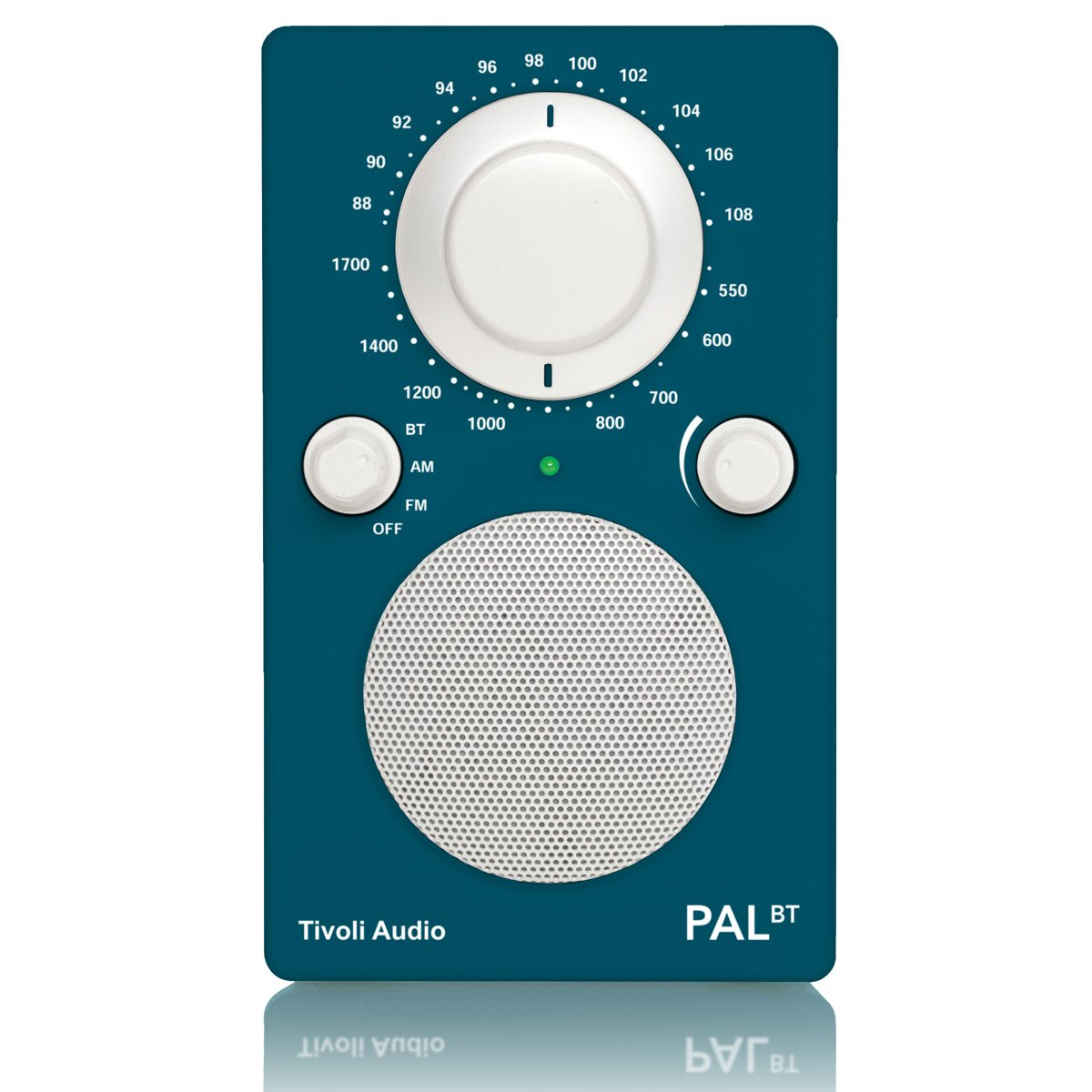 Tivoli PALBT Portable Audio Laboratory AM/FM Radio with Bluetooth - Deep Ocean Teal PALBTDOT
