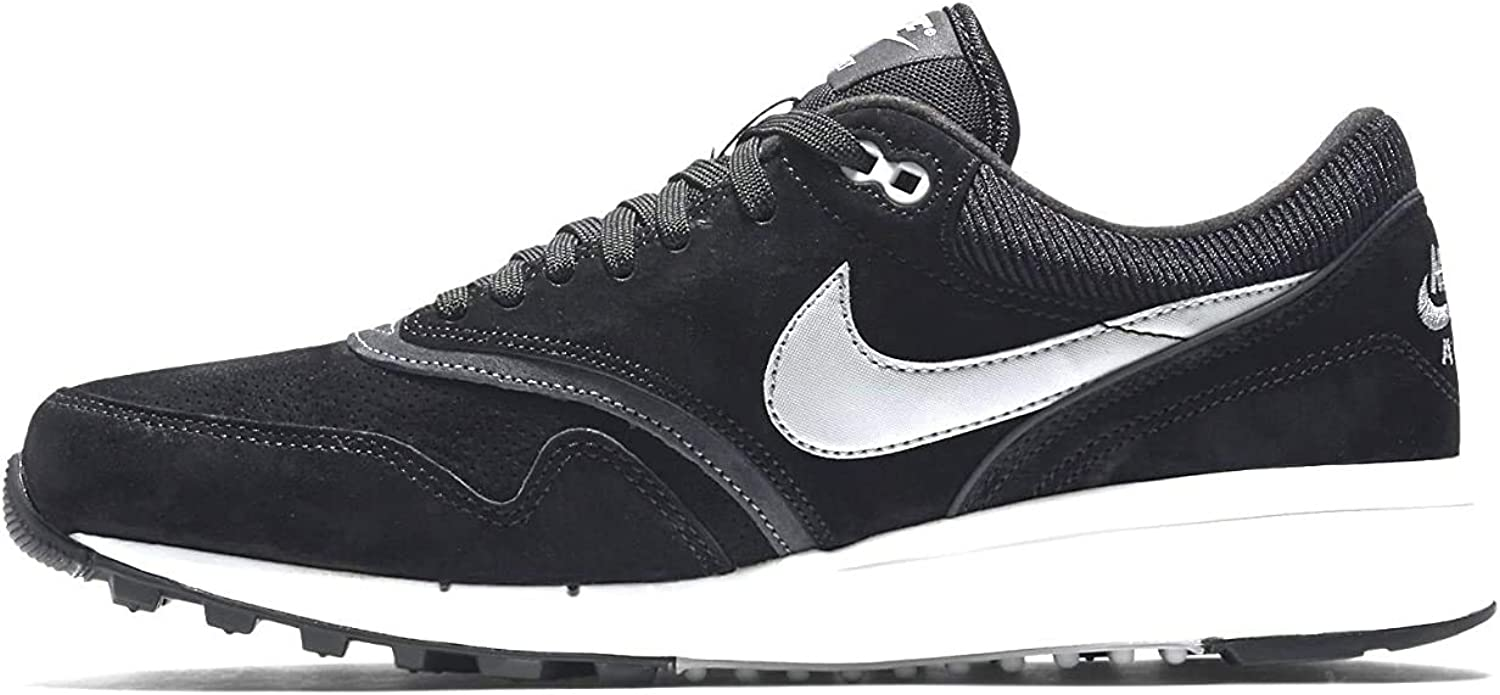 Nike Air Odyssey LTR, Zapatillas de Running para Hombre, Negro/Plateado (Black/Night Silver-Anthrct-SL), 47 1/2 EU: Amazon.es: Zapatos y complementos