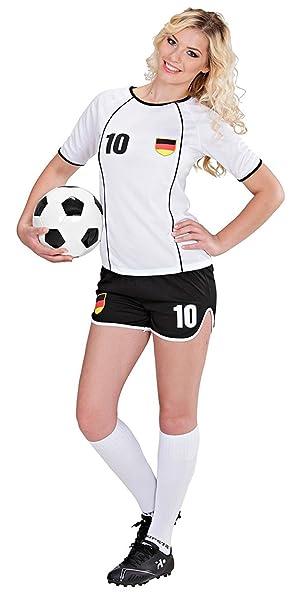 Mega Jumble® Germany White Black National Football Soccer Team T-shirt and  Shorts e9fa8ccd4f