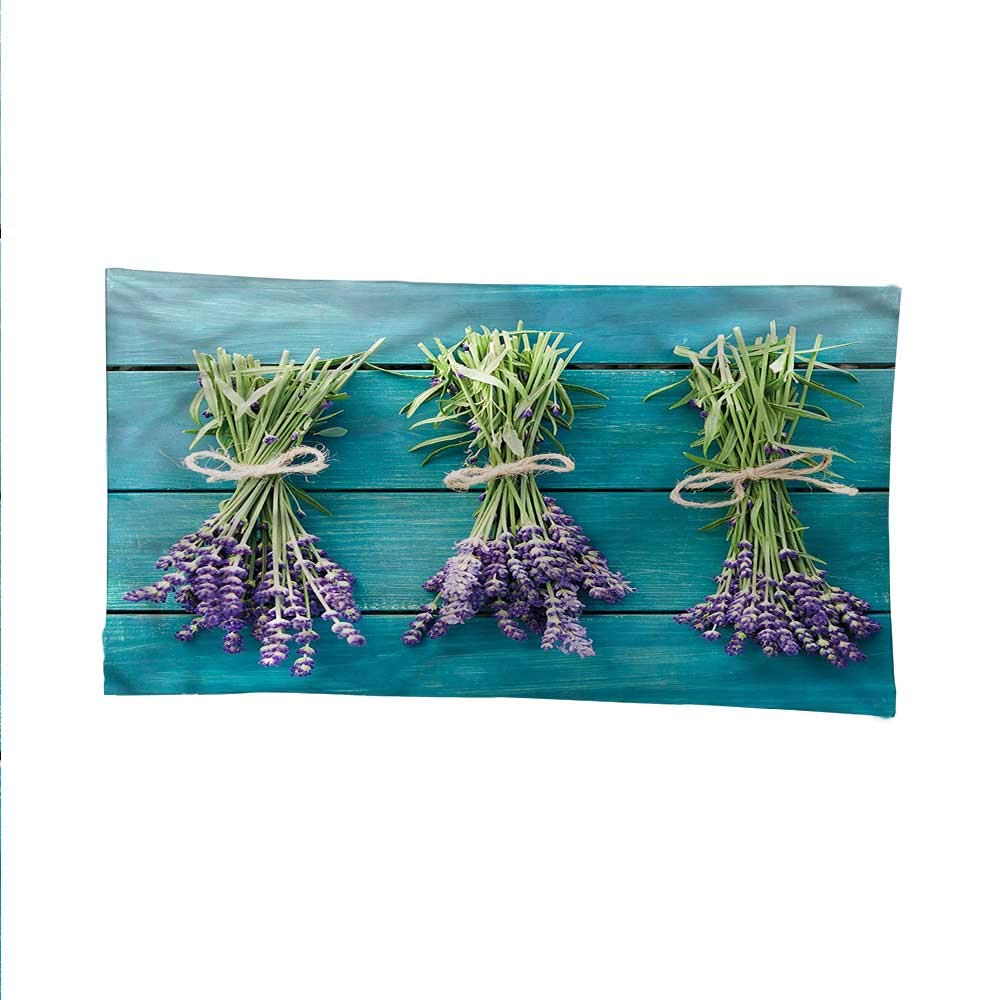 Lavendersimple tapestryart tapestryBlue Wooden Planks Rustic 84W x 54L Inch
