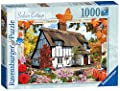 Ravensburger Country Cottage Collection No.10 - Sedum Cottage, 1000pc Jigaw Puzzle