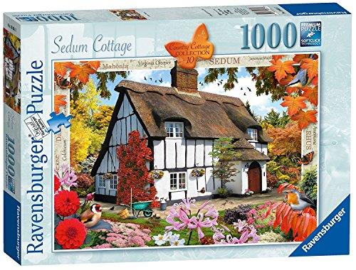 Ravensburger Country Cottage Collection No.10 - Sedum Cottage, 1000pc Jigaw Puzzle