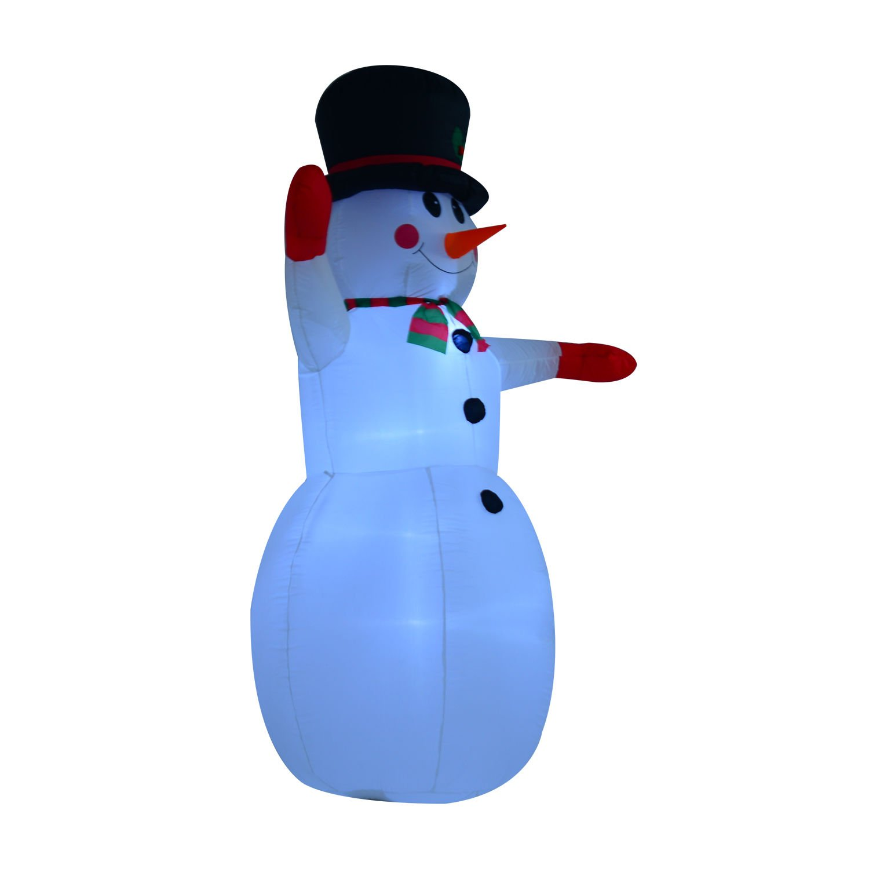 Amazon.com: 8\' Indoor/Outdoor LED Inflatable Holiday Christmas Yard ...