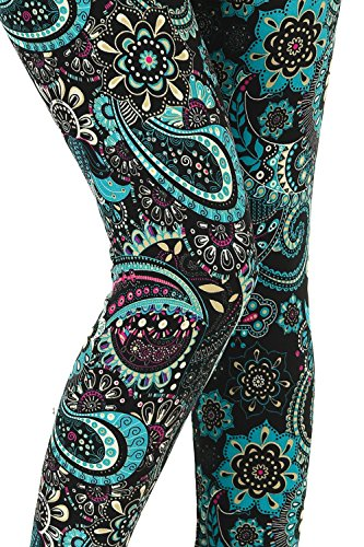 b8d93db21fd9d VIV Collection Popular Printed Brushed Buttery Soft Leggings Regular Plus 40+  Designs List 5