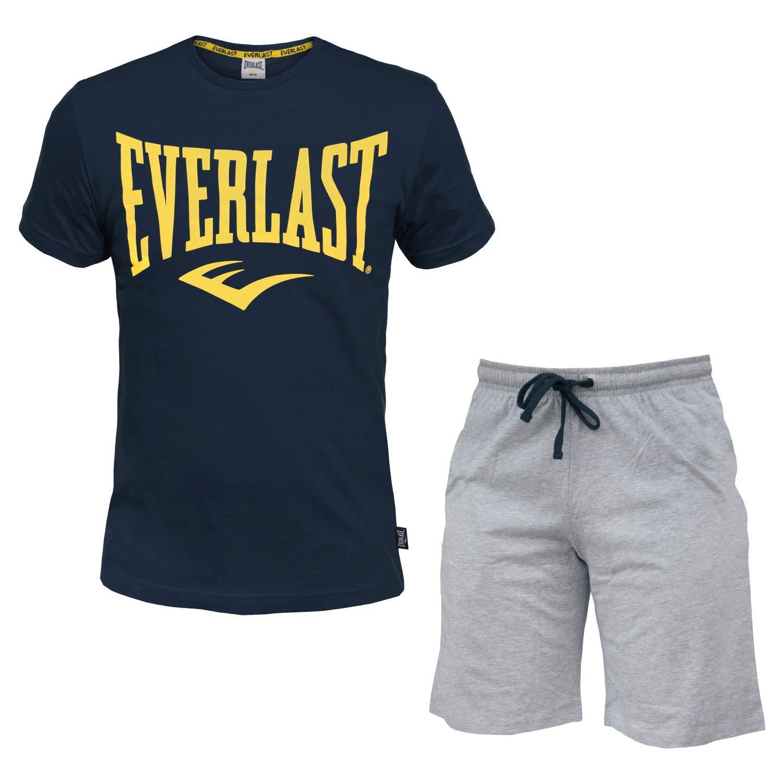 Completo Uomo Everlast Cotone T-Shirt e Pantaloncino Art.31067