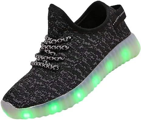 Kids Boys Girls Breathable LED Light