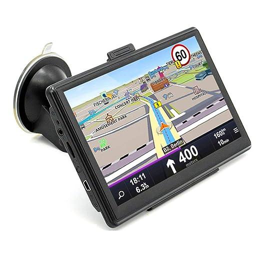 LHAN GPS Navegación para Coche 7 Pulgadas planifica rutas ...