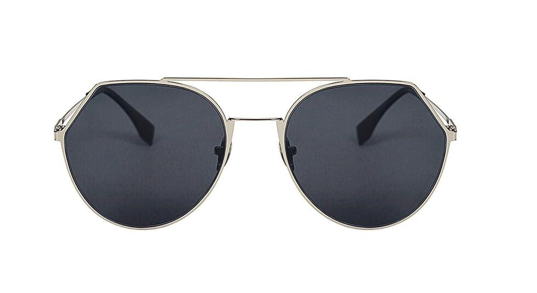 Sucastle, Mode, Explosion, Sonnenbrille, Street Beat, Wild, Trend, Sonnenbrille, Retro, Runde Box, Gläser, Metall,