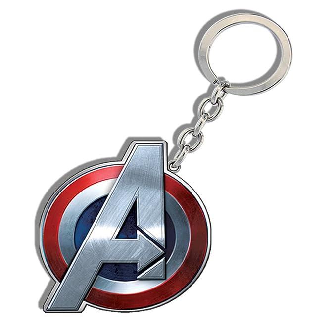 Amazon.com: Marvel edad de Ultron Capitán América Llavero ...
