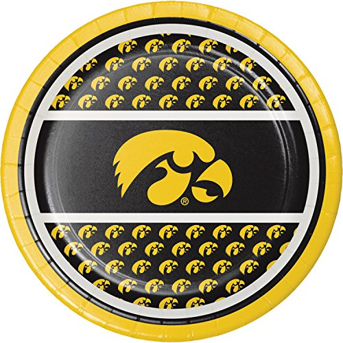 University Of Iowa Party (University of Iowa Dessert Plates, 24)