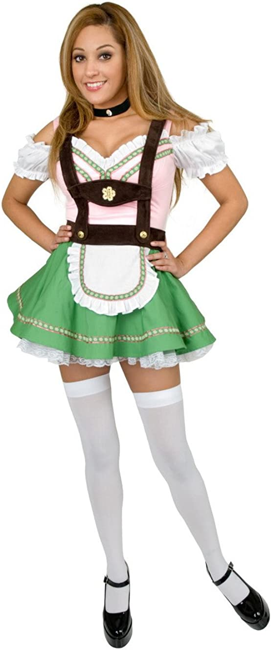 Charades Adult Women's Sexy Bavarian Beer Girl Costume
