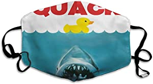 Doumku Mouth Cover Rubber Duck Be Care For The Shark Anti Dust Ear Loops Reusable Washable Facial Protection Magic Scarf For Men Women