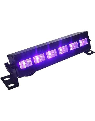4e559ccf5 Barra de Luz UV Led,Eleganted Ultravioleta Luz Negra 6 LEDs x 3W Lámpara de