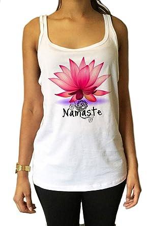 Jersey Tank Top Zen Lotus Flor Namaste Meditación Espiritual ...
