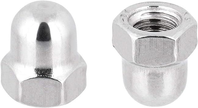 SC-Normteile - SC1587 Sechskant-Hutmuttern - DIN 1587 V2A - M18 - 25 St/ück hohe Form Hutmuttern Edelstahl A2